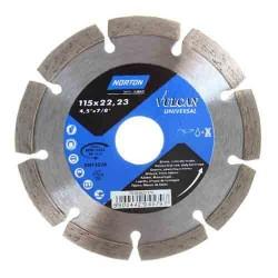 Disc diamantat Norton Vulcan Universal 115mm