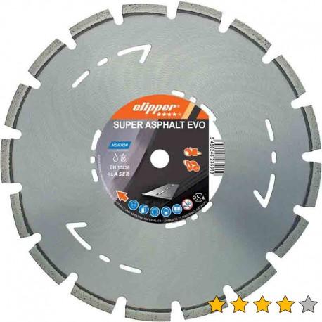 Disc diamantat Super Asfalt Evo 350 mm x 25,4 mm