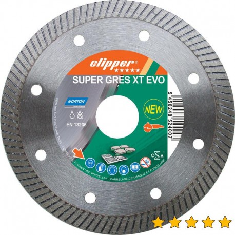 Disc diamantat Super Gres XT Evo 125 mm x 22,23 mm