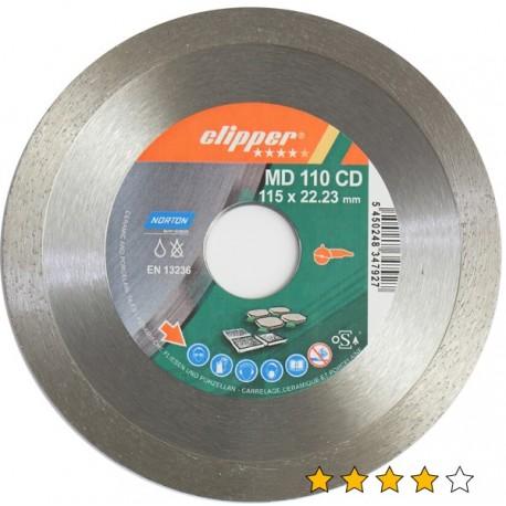 Disc diamantat MD 110CD 115 mm x 22,23 mm