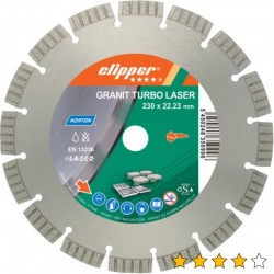 Disc diamantat Granit Turbo Laser 230mmx22,23mm