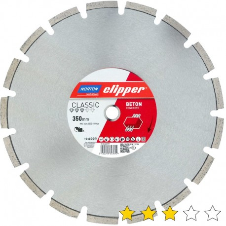 Disc diamantat Beton Clasic 300 mm x 25,4 mm
