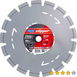 Disc diamantat PRO Beton (Super Evo Norton) 300 mm x 25,4 mm