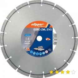 Disc diamantat Euro ZML EVO( PRO Uni) 350 mm x 25,4 mm