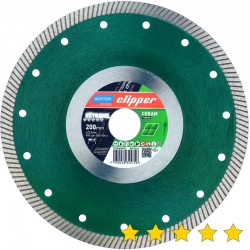 Disc diamantat Extreme Ceramic Turbo 200 mm x 25,4 mm
