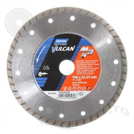 Disc diamantat Norton Vulcan Jet 180mm